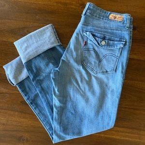 LEVI'S Mid Rise Jeans Size 10M